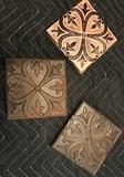 3 Tin  Decorative Tiles
