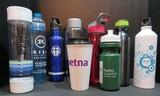 Lot of 9 Water Bottles