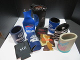 Lot of 12 various coozies
