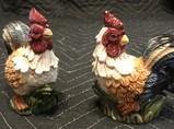 Ceramic Rooster Salt & Pepper Shakers