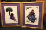 2 Framed Paintings from Madrid Spain
