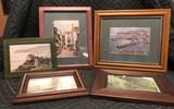5 Assorted Framed Pictures