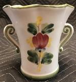 Handpainted Italian Vase