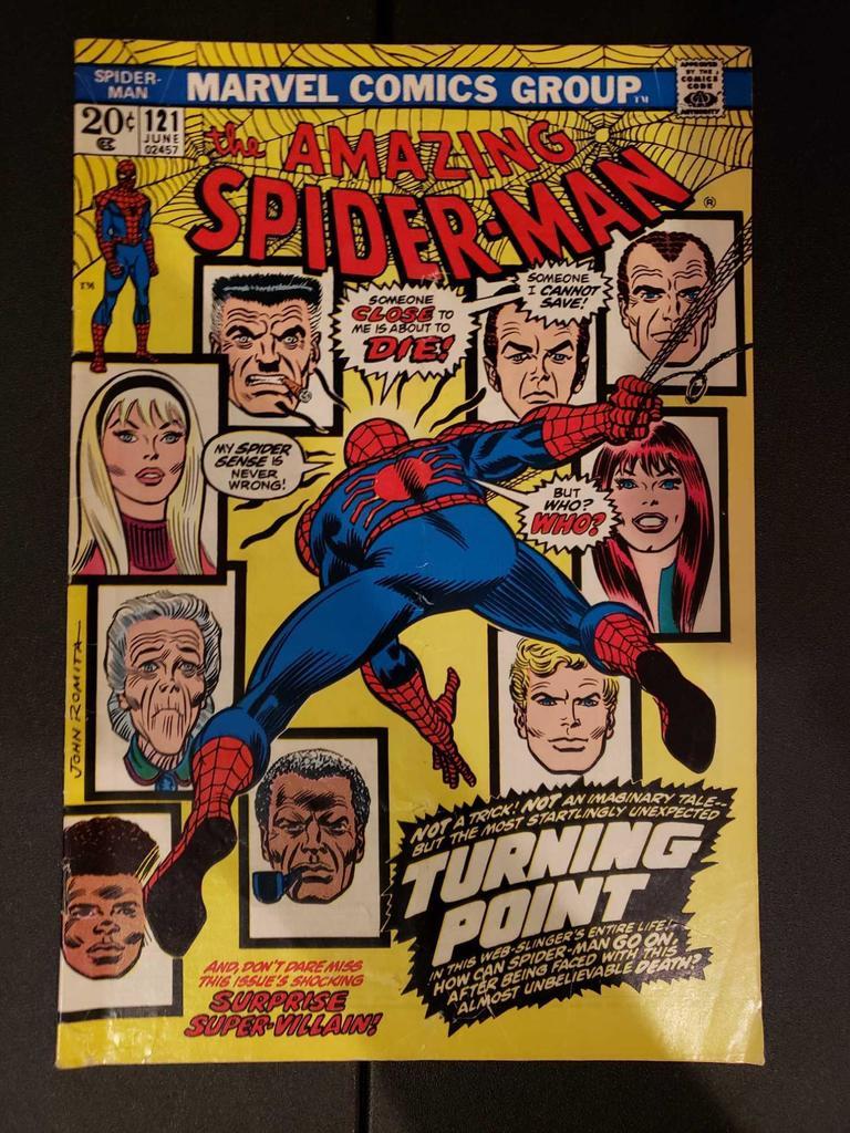 Marvel Bronze Age Comics AMAZING SPIDER-MAN 121 Death of Gwen Stacy
