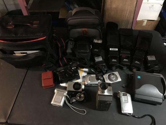 Assorted Camera/Camera Equipment