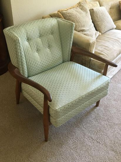 Mid Century Modern Pair Of Chairs