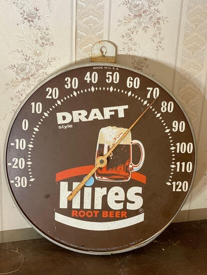 Hires Brand Retro Advertising Thermometer