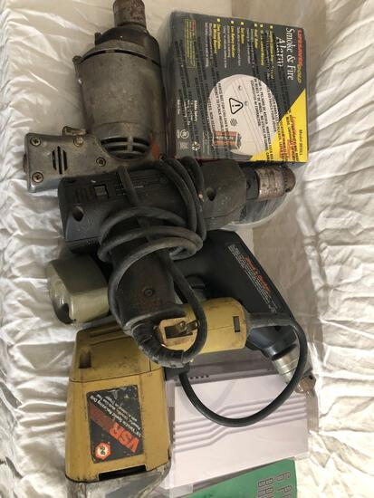 Various Power Drills And Misc