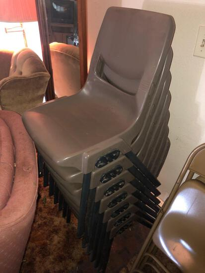 Large Lot Of Chairs