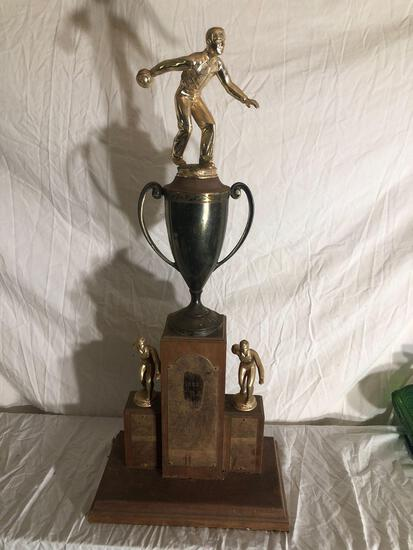 1958 Toledo Bowling Trophy
