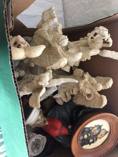 Angel Statues And Misc Decor
