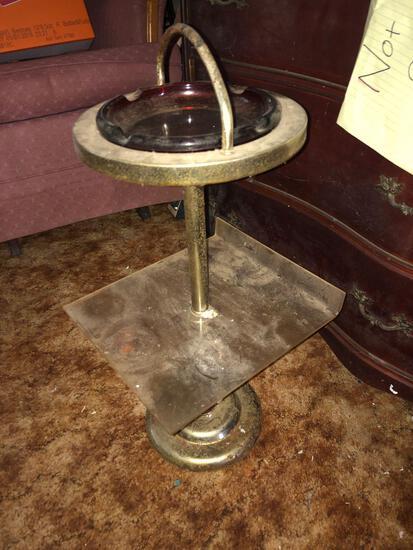 Vintage Floor Ash Tray