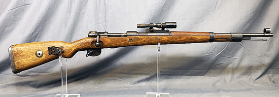 Waffen Werke Model 98 Mauser with ZF41 Scope