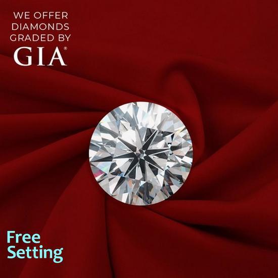 2.50 ct, Color D/IF, Round cut Diamond