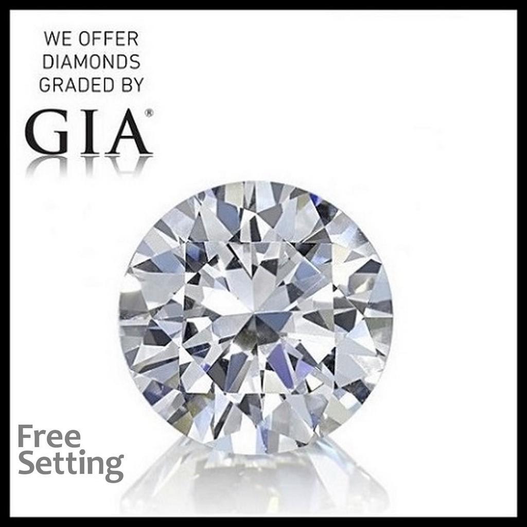 3.01 ct, Color D/VS1, Round cut Diamond
