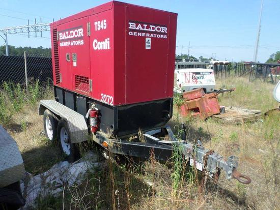 2011 Baldor TS45T 38KW T/A Gen Set