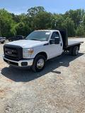2015 Ford F-350 Super Duty 12Ft Flatbed Dump Truck
