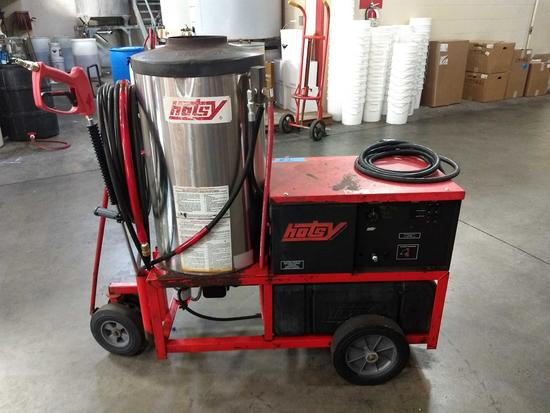 Hotsy 1410SS (RECONDITIONED) 230V-1PH Oil Fired 4GPM @3000PSI Hot Water Pressure Washer
