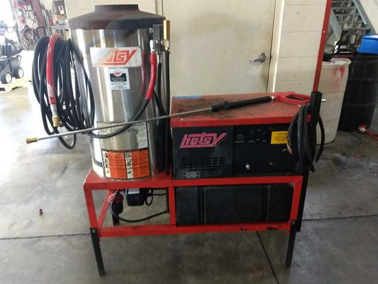 Hotsy 1423SS (RECONDITIONED) 460V-3PH Oil Fired 4GPM @3000PSI Hot Water Pressure Washer