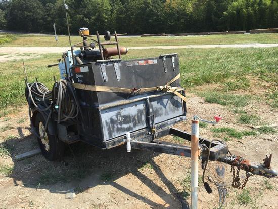 Target PRO35 II M18 Walk Behind Concrete Saw