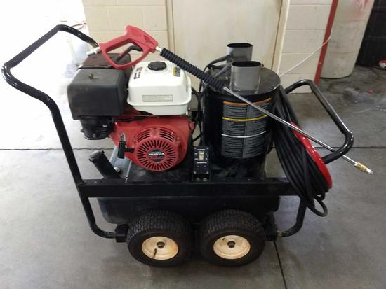 MI-T-M (RECONDITIONED) 3.5 GPM, 3000 PSI, 13HP Oil Fired Hot Water Pressure Washer