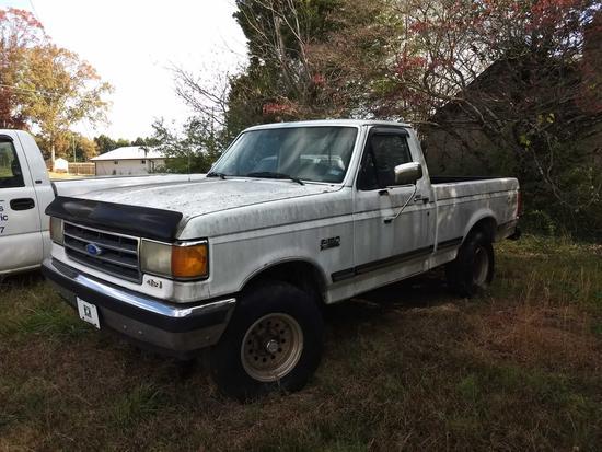 1991 Ford F-150 4X4 Pickup Truck