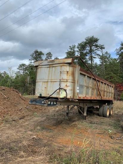 Hardee HRDT300 T/A End Dump Trailer
