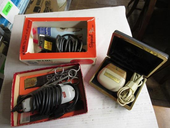 Vintage Electric Razors and more
