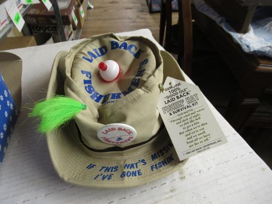 Laid Back Fishin' Hat and Survival Kit