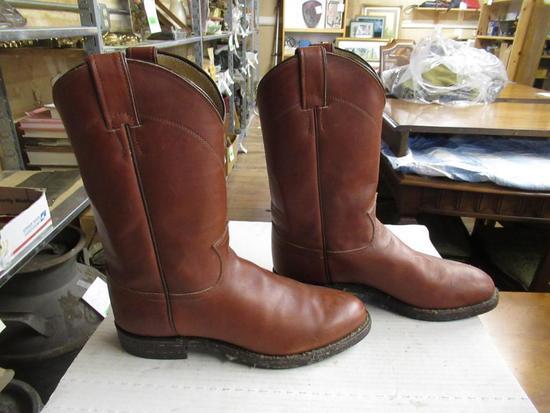 Justin Men's Cowboy Boots sz 8D