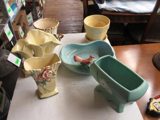 Assorted McCoy Pottery all signed
