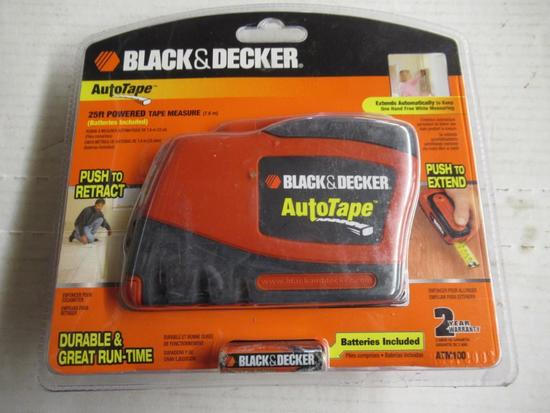 New Black and Decker Powered Tape Measure