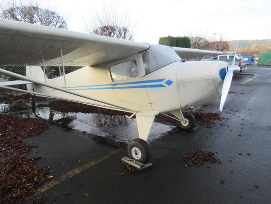 1946 Taylorcraft BC12D with Logs and Records.