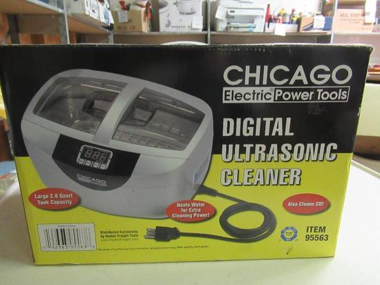 New Chicago Digital Ultrasonic Cleaner