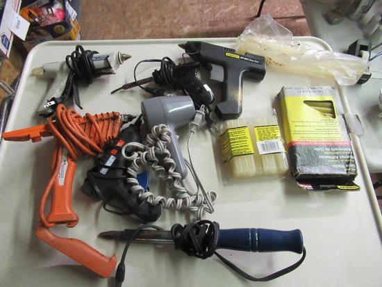 Hot Glue Guns and Glue Sticks