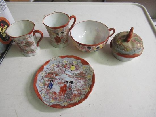 Japanese Tea Set - 21 Piece NO SHIPPING