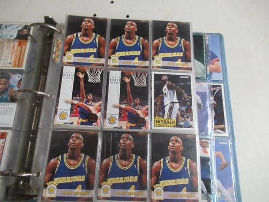 Binder of Sports Cards