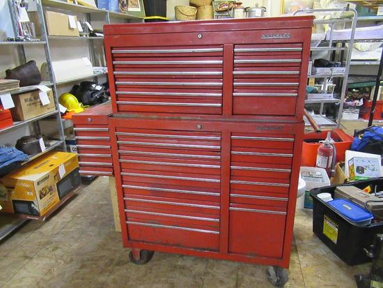 Waterloo 32 Drawer, Top, Bottom & Side Tool Box 59x54x18 NO SHIPPING