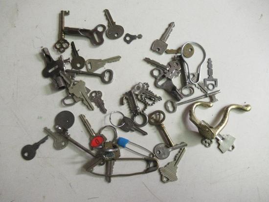 Vintage Skeleton Keys and more
