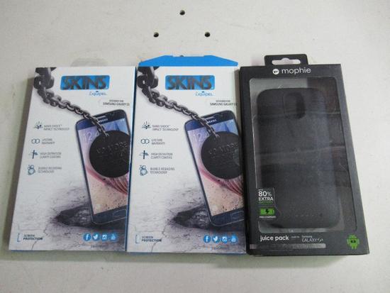 Samsung Galaxy S4 Case & 2 Screen Protectors
