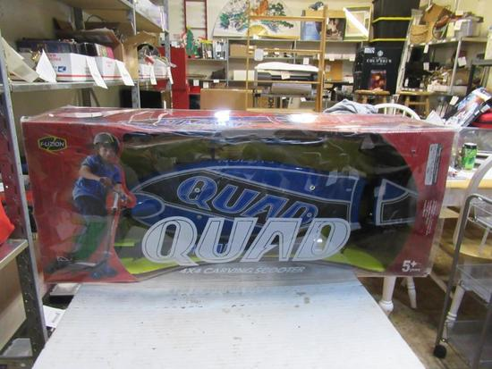 New qaud 4x4 carving scooter NO SHIPPING