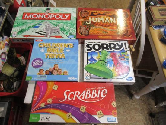 5- Family games