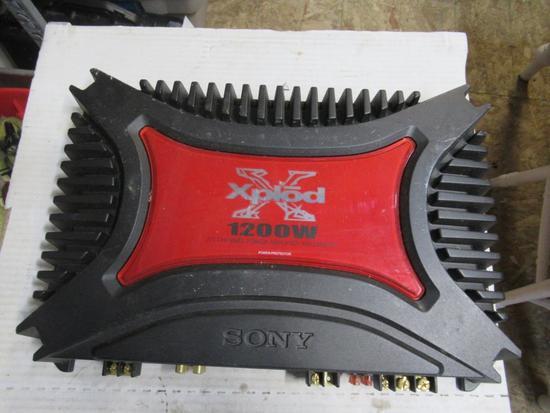 Xplod 1200w 2/1 channel amp