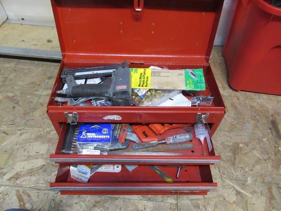 Waterloo tool box w/contents NO SHIPPING