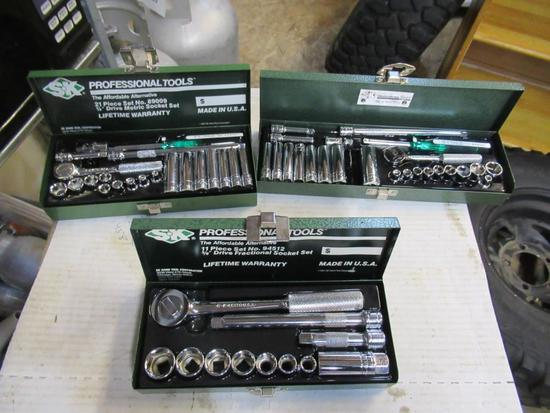 S-k tool sets 3 total