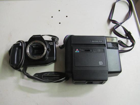 Vintage Cameras - 1970 Kodak Instant Camera, Canon E50650