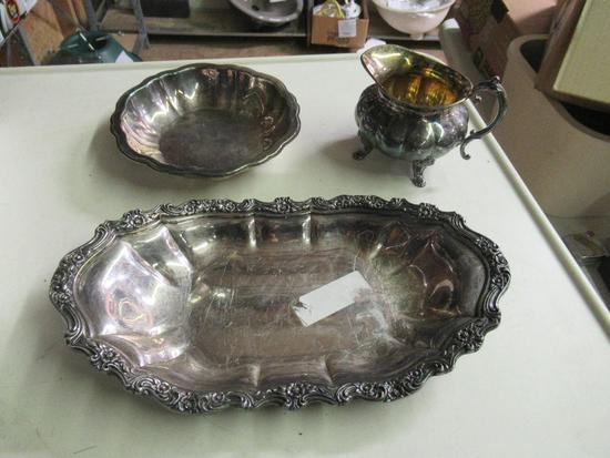 Silver Plated Tableware Set