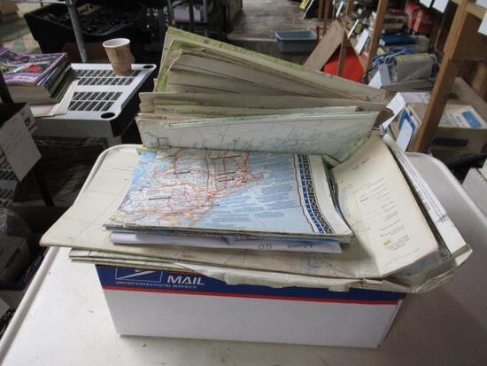 Large Lot of Aeronautical Charts/Maps