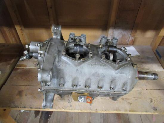 Airplane Engine w/ Crank & Rods serial #7435-1-9. SPECIAL SHIPPING REQUIREMENTS