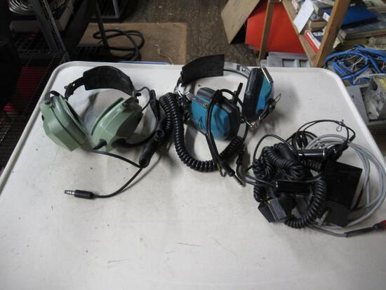 Sigtronics Aero-Pro 90 Aviation Headset S-2S-CD & Extras